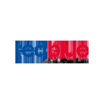 Logo redblue design