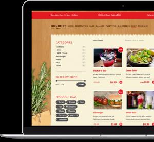 Gourmet Shop - Premium WordPress & WooCommerce Theme