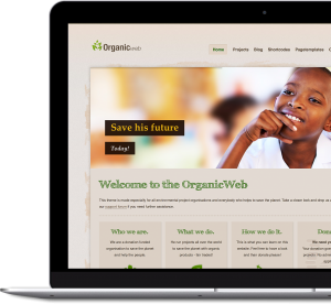 Organic Web - Premium WordPress Theme