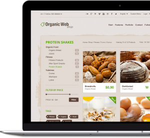 Organic Web Shop - Premium WordPress & WooCommerce Theme