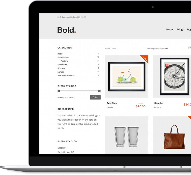 Bold - Premium WordPress & WooCommerce Theme