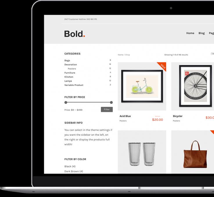 Bold - Premium WordPress & WooCommerce Theme